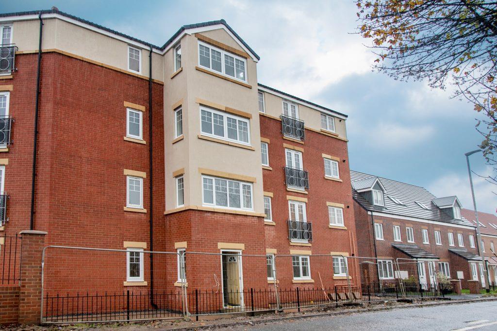 Greenhaugh Court Ashington, 2 Bedrooms  Apartment - purpose built ,To Let